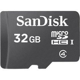 SanDisk 32GB MicroSD Card with Adaptor
