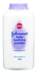 Johnson and Johnson - 200g Lavender Baby Powder