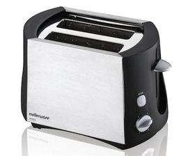 Mellerware - Vesta 2 Slice Toaster - Brushed Steel
