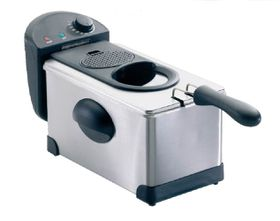 Sunbeam - Deep Fat Fryer 3 L - Stainless Steel