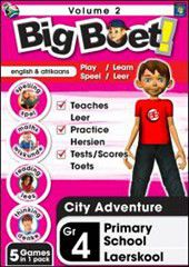 Big Boet Grade 4 - Educational Software - Vol 2