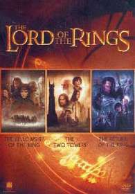 The Lord Of The Rings Trilogy Boxset (DVD)