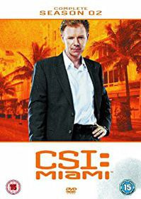 CSI Miami Complete Season 2 (DVD)