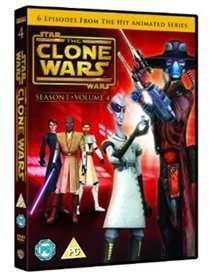 Star Wars - The Clone Wars: Season 1 - Volume 4 (DVD)