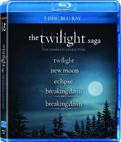 The Twilight Saga (5 Disc Blu-ray Box Set)