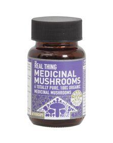 The Real Thing Medicinal Mushrooms Vegetarian Capsules - 60