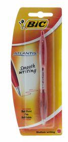 BIC Atlantis Medium Ballpoint Pen - Red