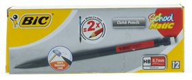 BIC School Matic 0.7mm HB Clutch Pencil (Box of 12)