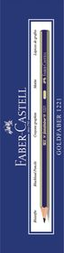 Faber-Castell Goldfaber 1221 Pencils - 4H (Box of 12)