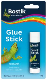Bostik Glue Stick - 25g Blister Card