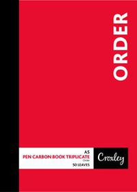 Croxley JD66PS A5 Order Pen Carbon Book Triplicate