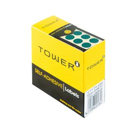 Tower C10 Colour Code Labels - Green