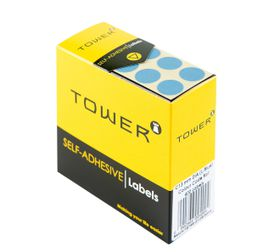Tower C13 Colour Code Labels - Light Blue