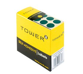 Tower C13 Colour Code Labels - Green