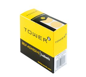 Tower C19 Colour Code Labels - Gold