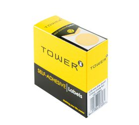 Tower C25 Colour Code Labels - Gold