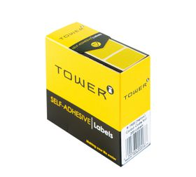 Tower R1925 Colour Code Labels - Yellow