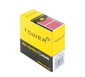 Tower R1925 Colour Code Labels - Pink