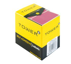 Tower R3250 Colour Code Labels - Pink