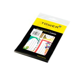 Tower Transport Book Labels