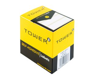 Tower White Roll Labels - R4513