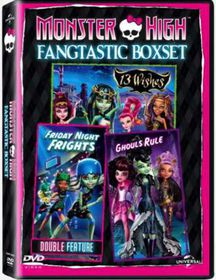 Monster High Boxset 2 (DVD)