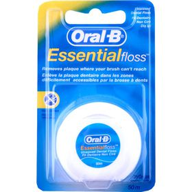 Oral-B Floss Essential Unwaxed - 50m
