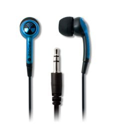 iFrogz Ear Pollution Plugz Blue Earphones