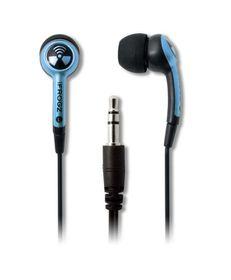 iFrogz Ear Pollution Plugz Sky Blue Earphones
