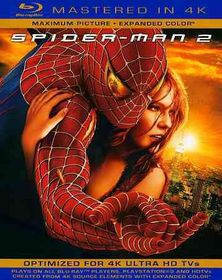 Spider Man 2 (4K Mastered) - (Region A Import Blu-ray Disc)