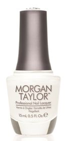 Morgan Taylor Nail Lacquer - All White Now (15ml)