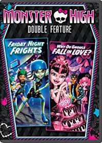 Monster High:Friday Night Frights/Why - (Region 1 Import DVD)