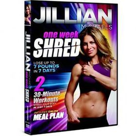 Jillian Michaels One Week Shred - (Region 1 Import DVD)