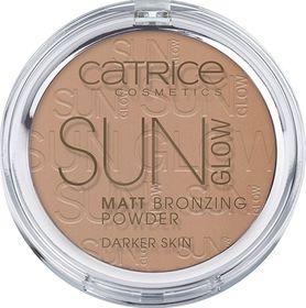 Catrice Sun Glow Matt Bronzing Powder - 020 Deep Bronze