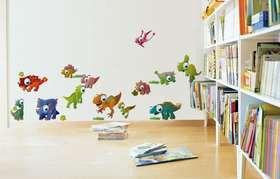 Fantastick - Dinotoons Vinyl Wall Stickers