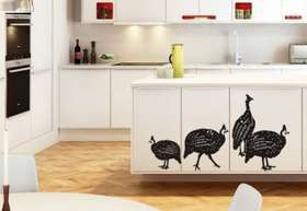 Fantastick - Guinea Fowl Vinyl Wall Stickers