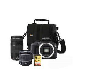 Canon 100D 18MP Twin DC Lens Bundle
