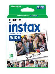 Fujifilm Instax Wide Film Plain Pack of 10