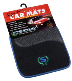 Stingray - Signature Line Mat Set - Blue and Black