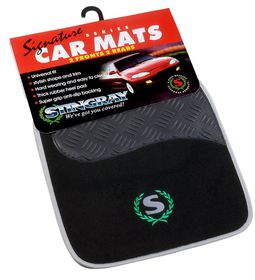 Stingray - Signature Line Mat Set - Grey and Black