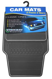 Stingray - Classic Rubber Mat Set - Grey