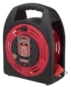 Masterplug - Handbag - Black & Red 15m