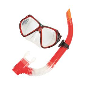 Bestway - Silicone Mask & Snorkel Combo - Red