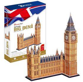 Cubic Fun Big Ben UK - 116 Pieces 3D Puzzle