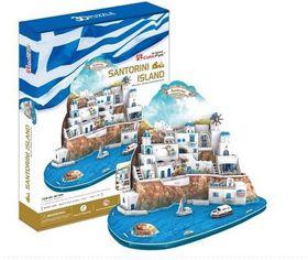 Cubic Fun Aegean Sea Santorini - 3D Puzzle