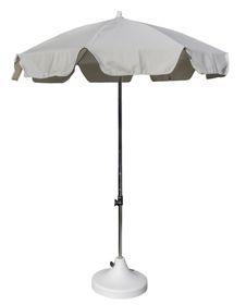 Cape Umbrellas - 2m Cafe Umbrella with Split Pole - Ecru