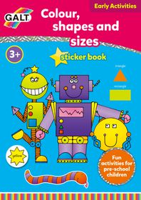 Galt Toys Colour, Shapes and Sizes Book