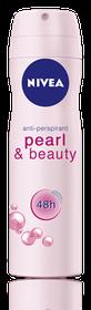 Nivea Deodorant Pearl & Beauty Aerosol - 200ml