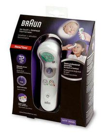 Braun - No Touch Forehead Thermometer