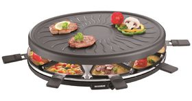 Severin - Raclette Party Grill Black - 1100 Watts